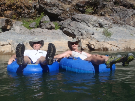 Bear River Tubers August 2011