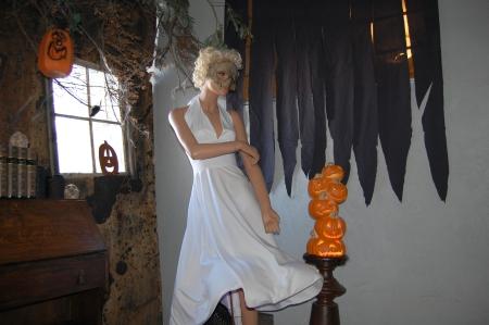 Marilyn Monroe feels a breeze